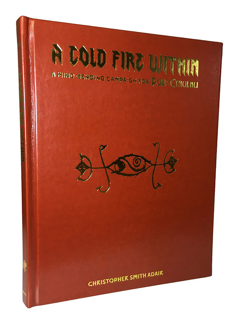 A Cold Fire Within - Leatherette Cover