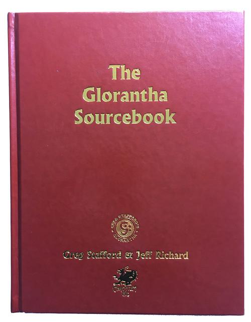 CHA4033 - Glorantha Sourcebook - Leatherette Cover
