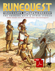RuneQuest Quickstart front cover