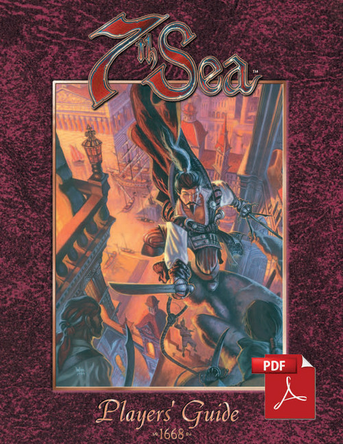 7th Sea Players Guide - Front Cover