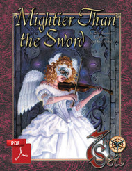 Mightier than the Sword - Front Cover