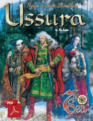 Nations of Theah: Book Seven - Ussura - Front Cover