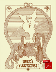 Wyrms Footnotes #1 - Front Cover