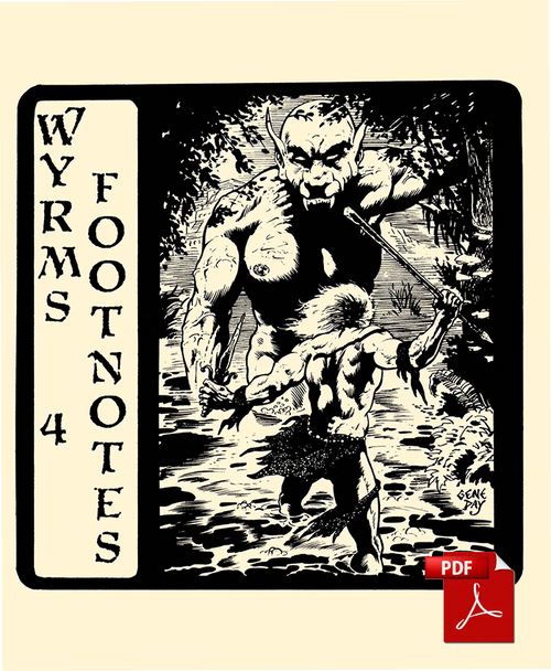 Wyrms Footnotes #4 - Front Cover
