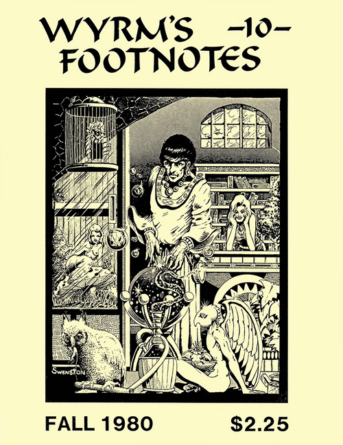 Wyrms Footnotes #10 - Front Cover