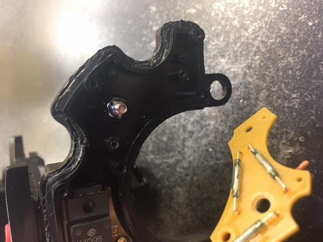 Tanacom SS60 counter gear post & nut