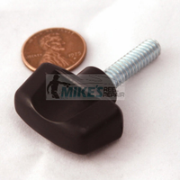 Minn Kota depth collar screw knob. Zinc plated screw.