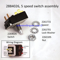 2884026 5 SPEED SWITCH