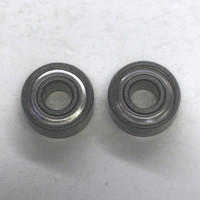 Abu OLDER STYLE S/S ABEC 7 Bearing Upgrade 3x10x4mm, Set of 2 - Shields on