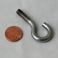 Cannon 9040040 HDW BOLT 1/4-20 ROLLEDTHD HOOK