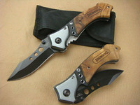 Browning 3E Folding Knife, Wood Handle