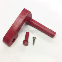 Scotty Red Lock Lever, older 2 belt units - long style