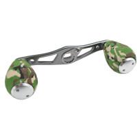 Green Camo Swept Handle, 4 bearing EVA Knobs