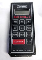 CANNON DIGI TROLL II CONTROL BOX - USED TOP VIEW