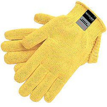 1 Pair Mcr 9375 Large 100% Kevlar Cut Resistant Gloves