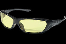 Crews Ff124 Forceflex Safety Glasses Amber Lens 6 Pairs