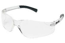 3 Pairs Crews Bk110Af Bearkat Safety Glasses Clear Lens
