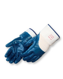 Liberty 9460SP XL X-Large Nitrile Glove Fully Coated With Safety Cuff 1 dz