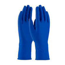 "Safetyzone GRHL-XL-5M-P Powderfree Latex Glove 12"" 15 Mil Case 500 (50x10)"