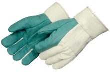 Liberty 4571B Hot Mill  Cotton Glove Heavyweight Burlap Lined 1 dz From $44.99 10+