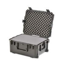 SKB 3I-2217-10BC Black Case with Pull Handle, Wheels and Cubed Foam