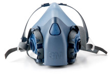 3M 7503 Large 1/2 Mask Face Piece Silicone Respirator 1 Each