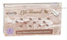 Lifeguard 1263 M Medium Powderfree Textured Latex Glove Case 1000 (10x100)