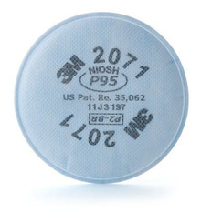 3M 2071 P95 Filter For Respirator 6200 6300 7502 7503 6800 6900 2-Pack  From $6.99 10+
