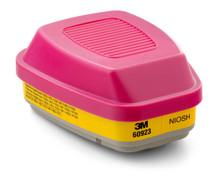 3M 60923 P100 OV AG Cartridge For Respirator 1/2 Case 15 Packs