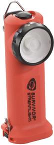 Streamlight 90540 Orange Survivor Right Angled Fire LED Flashlight  Alkaline