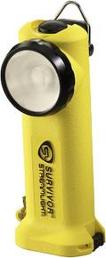 Streamlight 90541 Yellow Survivor Right Angled Fire LED Flashlight  Alkaline
