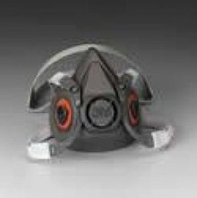 3M 6200 Medium Respirator Face Piece 1/2 Mask Ea 3M6200
