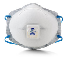 3M 8577 P95 Ov Respirator W/Valve Box 10 masks