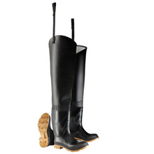 """Dunlop 86056 SIZE 13 Hip Thigh Waders 32"""" Steel Toe Onguard"""