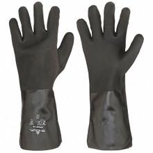 Showa Best 7714R Black Knight PVC Gloves 14 Inch 1 Pair