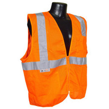 Radians Sv2Zom 2X Safety Vest Class 2 Orange Mesh Case 24 Each