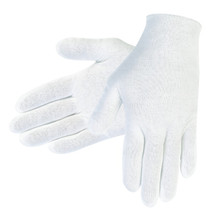 MCR 8610C Liberty 4401LD Small Gloves 100% Cotton Inspector Case 100 Dz
