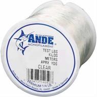 Ande Preminum Mono Clear 1/8 spool 15lb