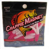 Leland Crappie Magnet 1.5' 15ct Pearl/Pink