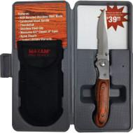 Maxam Liner Lock Knife - SKPKWD3B
