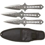 Rampant 4pc Throwing Knife Set