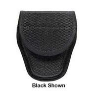 7300 Series AccuMold Covered Handcuff Case - Velcro Closure, Size 1, Black