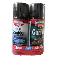 Gun Scrubber and Synthetic Gun Oil Combo Pack, 10 oz Aerosol
