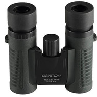 SII Series Binoculars - 8x25mm, Green Rubber Finish