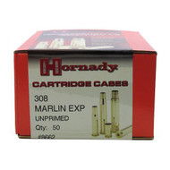 Unprimed Brass - 308 Marlin Express (Per 50)