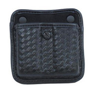 7922 AccuMold Elite Triple Threat II Magazine Pouch - Basket Black, Size 2