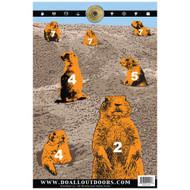 Paper Target - Prairie Dog, 12x18, Per 10