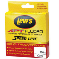 APT Fluorocarbon Speed Line - 20 lbs, 200 Yards, Transparent Clear