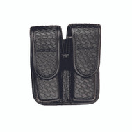 7902 Double Mag Pouch-Basket Black Hid 2