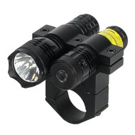 "650nM Red Laser - w/80 Lumen Light, 1"" Mount"